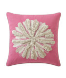RugStudio presents Company C Asters Pillow Peony
