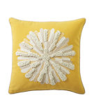RugStudio presents Company C Asters Pillow Yellow