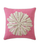 RugStudio presents Company C Asters Pillow 18934k Peony