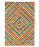 RugStudio presents Company C Serape Multi Hand-Tufted, Good Quality Area Rug