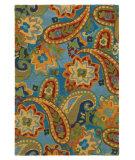 RugStudio presents Rugstudio Sample Sale 68980R Lapis Hand-Tufted, Good Quality Area Rug