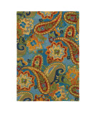 RugStudio presents Company C Devonshire 18964 Lapis Hand-Tufted, Good Quality Area Rug