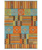 RugStudio presents Company C Pueblo Multi Hand-Tufted, Good Quality Area Rug