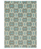RugStudio presents Company C Labyrinth 68985 Lake Hand-Tufted, Good Quality Area Rug