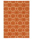RugStudio presents Company C Labyrinth Paprika Hand-Tufted, Good Quality Area Rug