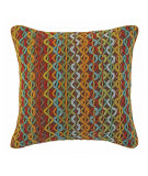 RugStudio presents Company C Thicket Pillow Chocolate