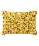 RugStudio presents Company C Braided Velvet Pillow Dijon