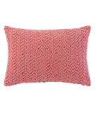 RugStudio presents Company C Braided Velvet Pillow Peony