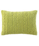 RugStudio presents Company C Braided Velvet Pillow Willow