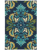 RugStudio presents Company C Margie Colorspree Ultramarine Hand-Hooked Area Rug