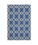 RugStudio presents Company C Crisscross 19011 Capri Blue Woven Area Rug