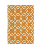 RugStudio presents Company C Crisscross 19011 Mango Woven Area Rug