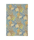 RugStudio presents Company C Sea Glass 19013 Lagoon Hand-Tufted, Good Quality Area Rug