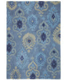 RugStudio presents Company C Luna 19015 Indigo Hand-Tufted, Best Quality Area Rug
