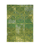 RugStudio presents Company C Courtyard 19017 Spring Green Hand-Tufted, Good Quality Area Rug