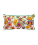 RugStudio presents Company C French Knot Floral Pillow White