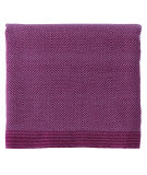 RugStudio presents Company C Haberdash Throw 19039 Fuchsia Woven