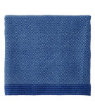 RugStudio presents Company C Haberdash Throw 19039 Indigo Woven