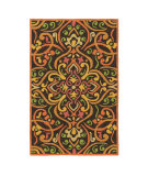 RugStudio presents Company C Morocco 80948 Persimmon Area Rug