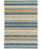 RugStudio presents Company C Sheffield Stripe 19045 Seagrass Hand-Tufted, Best Quality Area Rug