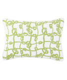 RugStudio presents Company C Throw Me A Line Pillow Kiwi