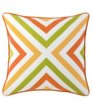RugStudio presents Company C Chevron Pillow Tuscan Orange