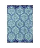 RugStudio presents Company C Gala 80934 Blue Hand-Tufted, Best Quality Area Rug