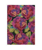 RugStudio presents Company C Roses 80952 Evergreen Hand-Tufted, Best Quality Area Rug