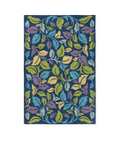 RugStudio presents Company C Moonlit 80946 Blue Iris Hand-Hooked Area Rug