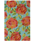 RugStudio presents Company C Aphrodite 19116 Lake Hand-Hooked Area Rug