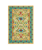 RugStudio presents Company C Sarrouk 19117 Cream Hand-Hooked Area Rug