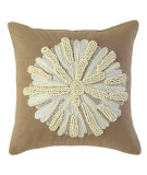 RugStudio presents Company C Asters Pillow 18934k Driftwood