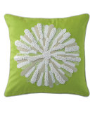 RugStudio presents Company C Asters Pillow 18934k Lime