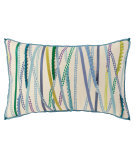 RugStudio presents Company C Belle Pillow 19078k Blue