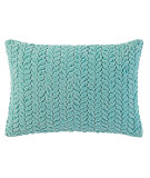RugStudio presents Company C Braided Velvet Pillow 18980k Lake