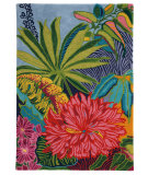RugStudio presents Company C Captiva 18923 Multi Hand-Hooked Area Rug
