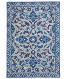 RugStudio presents Rugstudio Sample Sale 62202R Ultramarine Hand-Tufted, Good Quality Area Rug