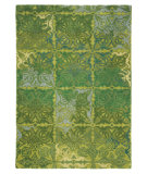 RugStudio presents Company C Courtyard 80926 Spring Green Hand-Tufted, Good Quality Area Rug