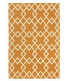 RugStudio presents Company C Crisscross 80929 Mango Woven Area Rug