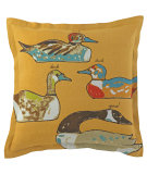 RugStudio presents Company C Duck Duck Goose Pillow 19201k Dijon