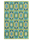 RugStudio presents Rugstudio Sample Sale 80937R Kiwi Hand-Hooked Area Rug