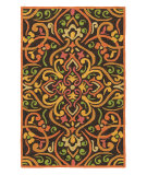 RugStudio presents Company C Morocco 19043 Persimmon Hand-Hooked Area Rug