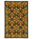 RugStudio presents Company C Mountain Meadow 19209 Espresso Hand-Tufted, Best Quality Area Rug