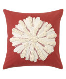RugStudio presents Company C Asters Pillow 18934k Newport Red