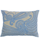 RugStudio presents Company C Stella Pillow 19110k Capri Blue