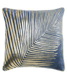 RugStudio presents Company C Fanfare Pillow 19256k Blue