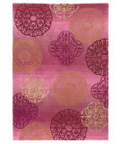 RugStudio presents Company C Portico 80949 Wine Hand-Tufted, Good Quality Area Rug