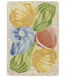RugStudio presents Company C Barefoot On The Beach 19231 Driftwood Hand-Hooked Area Rug