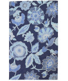 RugStudio presents Company C Blue By You 19233 Indigo Hand-Hooked Area Rug