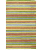 RugStudio presents Company C Stripe Tease 19238 Multi Hand-Tufted, Best Quality Area Rug